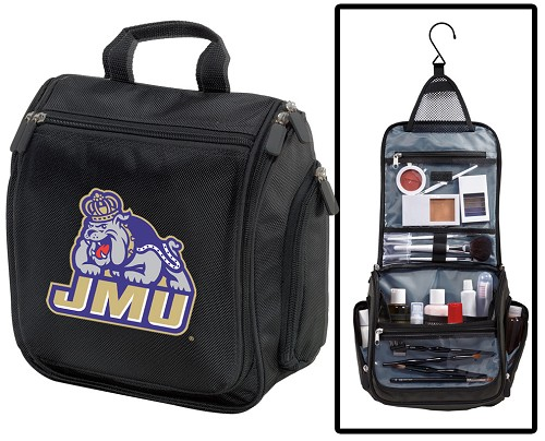 James Madison Cosmetic Bag or NCAA Mens Shaving Kit - Travel Bag