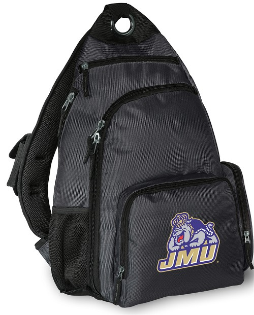 James Madison Backpack Cross Body Style Gray