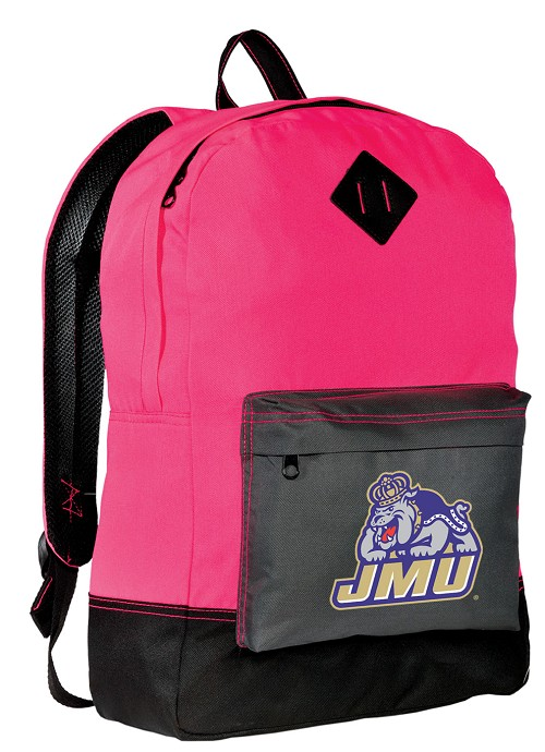 James Madison Neon PINK Backpack