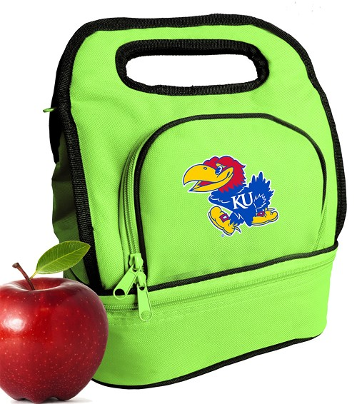 University of Kansas Lunch Bag Green