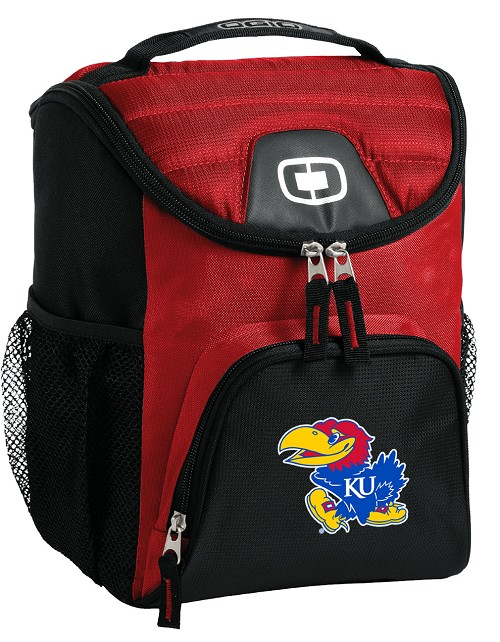 University of Kansas Lunch Bag Insulated Lunch Cooler Red