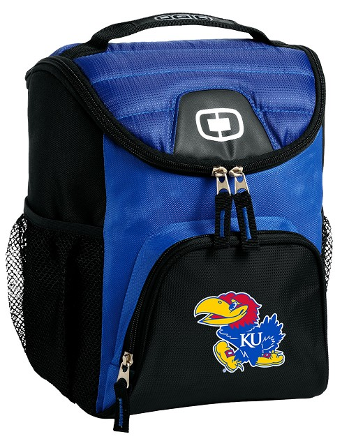 University of Kansas Lunch Bag Insulated Lunch Cooler Blue