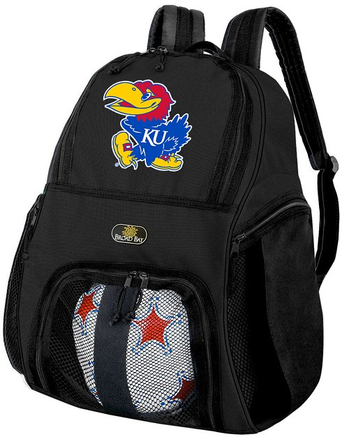 Kansas Jayhawks Soccer Backpack