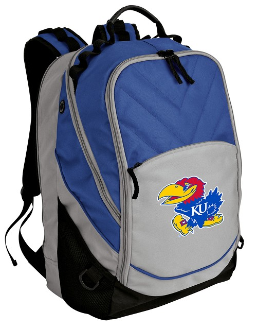 Kansas Jayhawk Backpack w/ Laptop Section