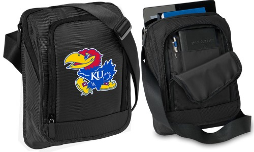 Kansas Jayhawks Tablet or Ipad Shoulder Bag