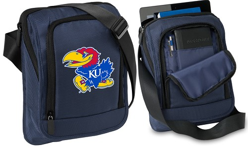 University of Kansas IPAD or TABLET Bag Navy