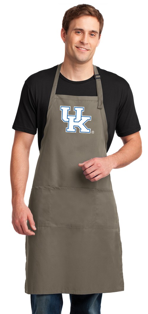 Kentucky Wildcats Apron X-LARGE Khaki