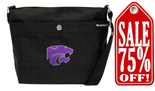 Kansas State University Purse Logo