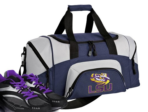 LSU Small Duffle Bag Navy