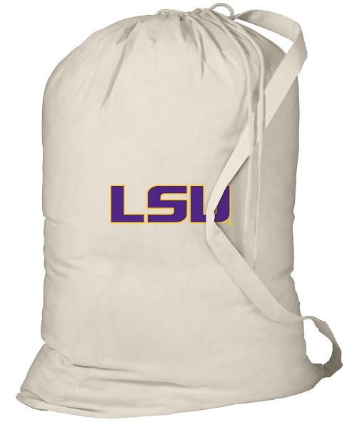 LSU Laundry Bag Natural