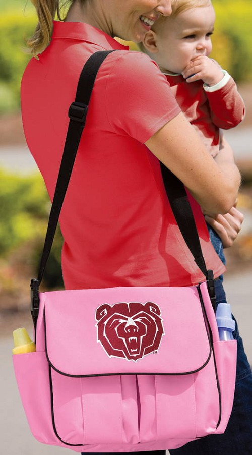 Missouri State University Diaper Bag Official NCAA College Logo Deluxe