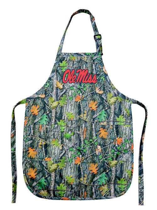 Ole Miss University of Mississippi REAL Camo Apron