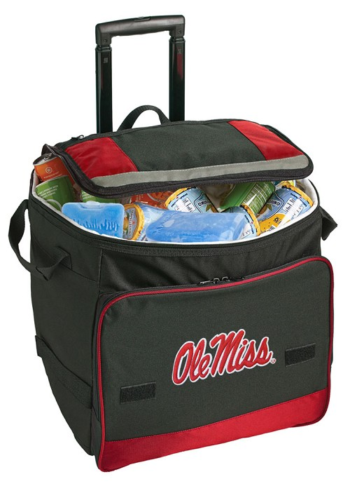 University of Mississippi Rolling Cooler