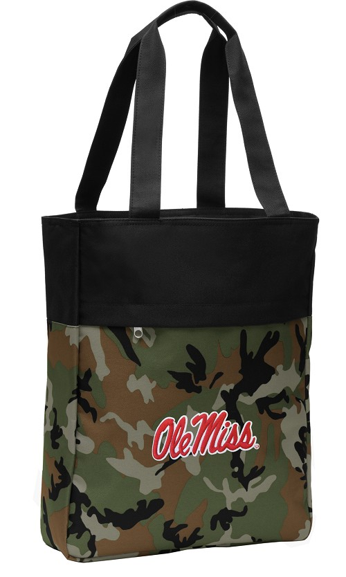 Ole Miss Tote Bag Everyday Carryall Camo