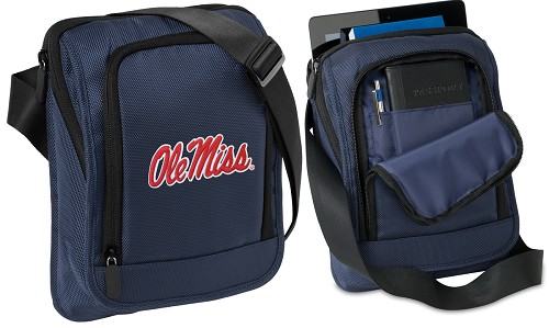 Ole Miss University of Mississippi IPAD or TABLET Bag Navy