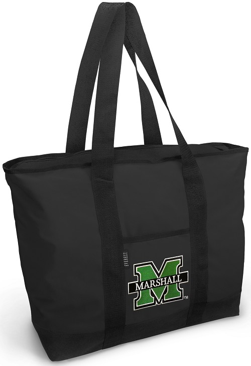 Marshall University Tote Bag Black Deluxe