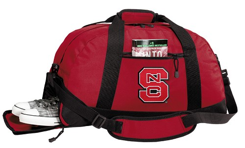 NC State Duffle Bag Red