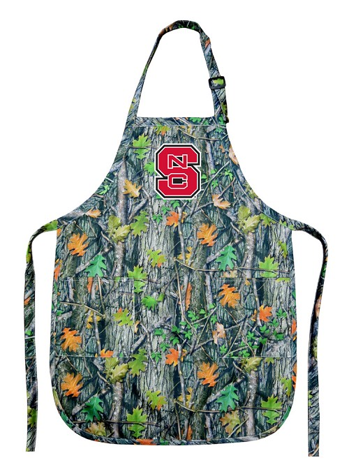 Camo NC State Apron for Men or Women
