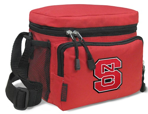 NC State Lunch Box Cooler Bag Insulated Red