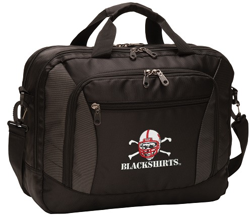 Nebraska Blackshirts Laptop Messenger Bags