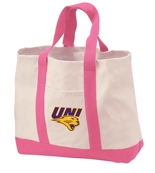 University of Northern Iowa Tote Bags Pink