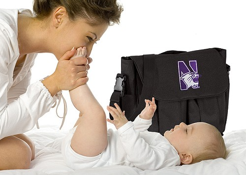 Northwestern University Diaper Bags