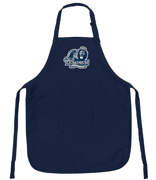 Old Dominion University ODU Apron College Logo Blue