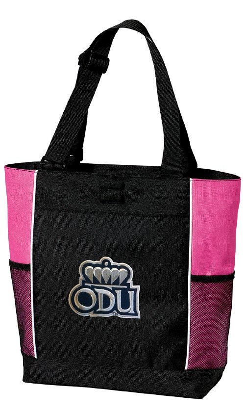 Old Dominion University ODU Neon Pink Tote Bag