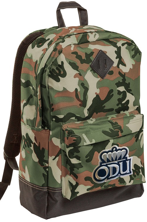 Old Dominion University ODU Camo Backpack