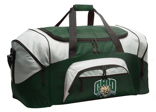 Ohio University Bobcats Duffle Bag Green