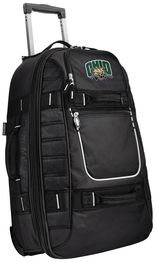 Ohio Bobcats Rolling Carry-On Suitcase