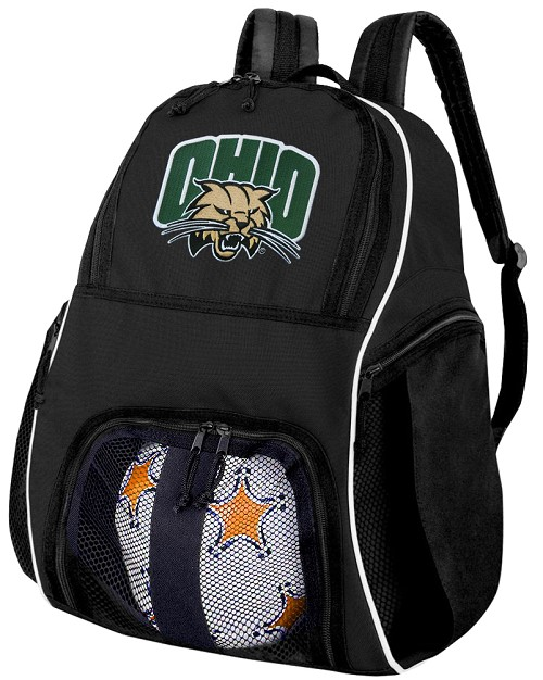 Ohio University Soccer Backpack or Ohio Bobcats Volleyball Bag For Boys or Girls