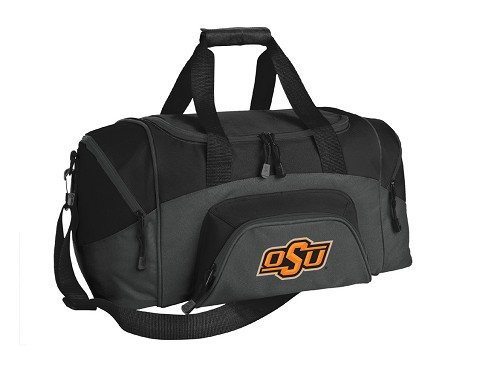 Oklahoma State Small Duffle Bag Black