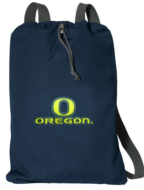 OU Cotton Drawstring Bag Backpacks Cool Navy