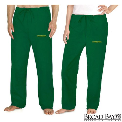 University of Oregon Scrubs Bottoms Pants