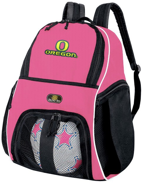 Girls University of Oregon Soccer Backpack or UO Volleyball Bag