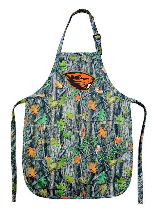 Camo Oregon State Apron for Men or Women