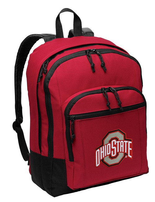 OSU Ohio State Buckeyes Backpack Red