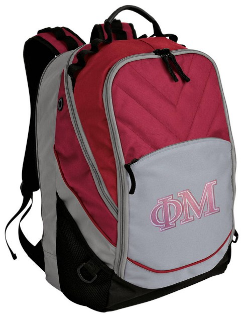 Phi Mu Backpack w/ Computer Compartment