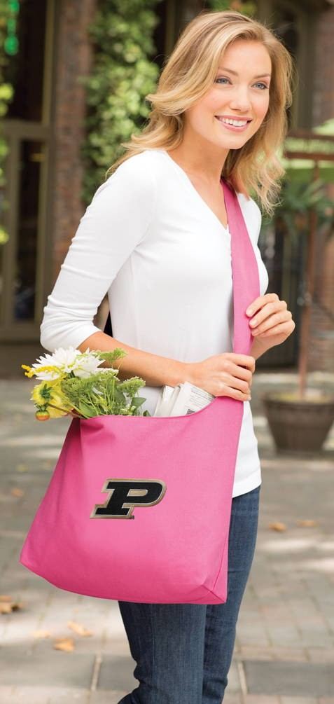 Purdue Tote Bag Sling Style Pink
