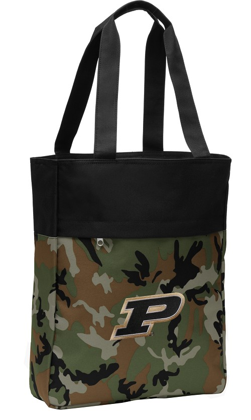 Purdue Tote Bag Everyday Carryall Camo
