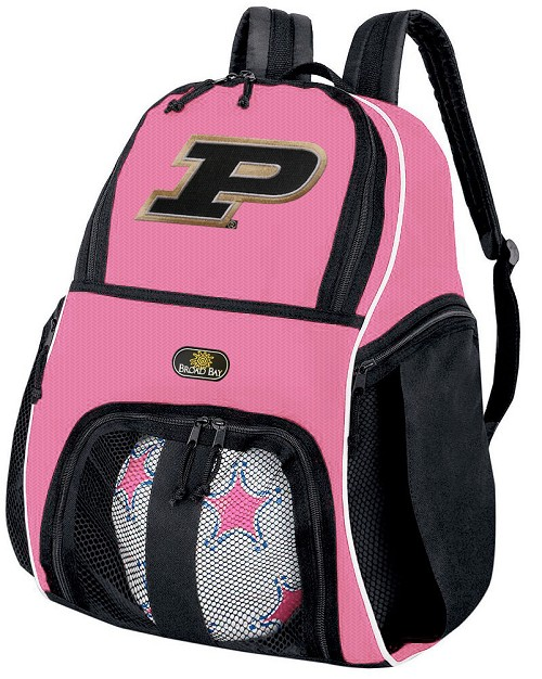 Girls Purdue University Soccer Backpack or Purdue Volleyball Bag