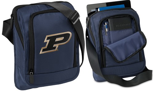 Purdue University Tablet or Ipad Shoulder Bag Navy