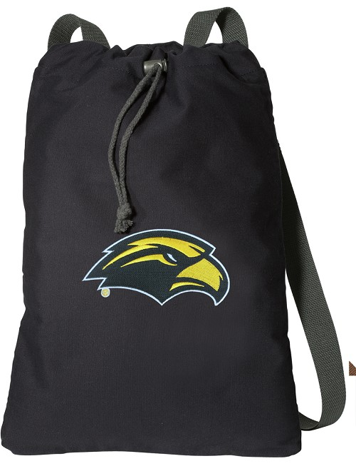 Southern Miss Cotton Drawstring Bag
