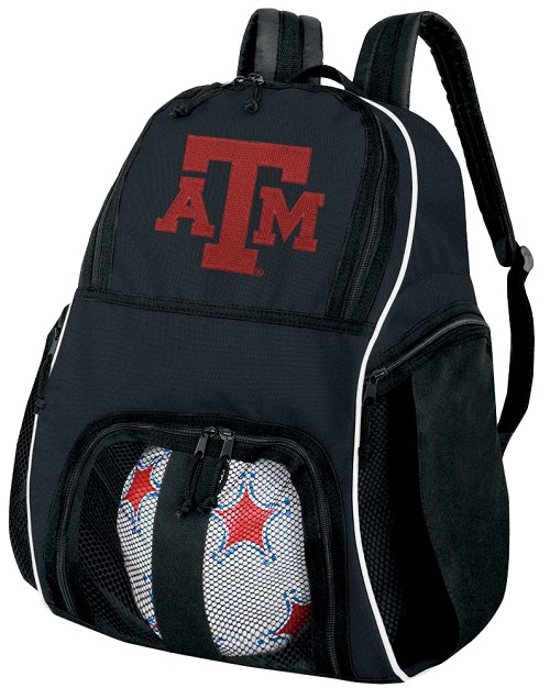 Texas A&M Soccer Backpack
