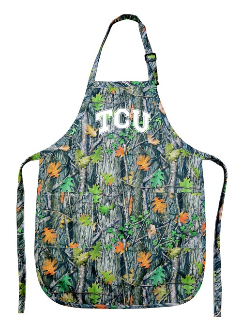 TCU Texas Christian University REAL Camo Apron