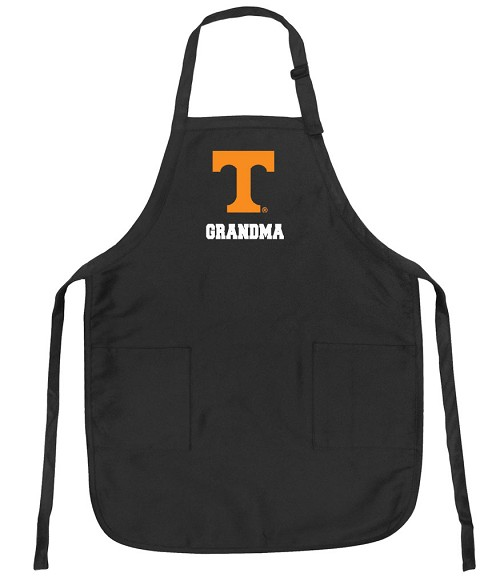 University of Tennessee Grandma Apron Black