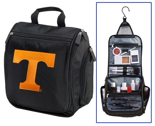 University of Tennessee Cosmetic Bag or Mens Shaving Kit - Travel Bag