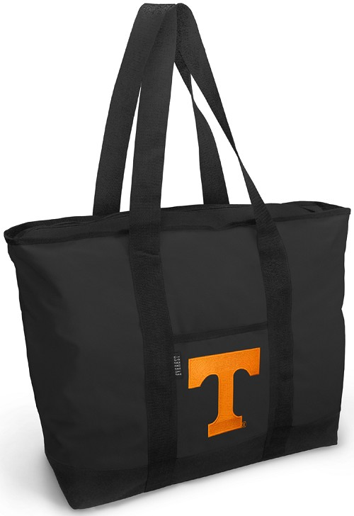 University of Tennessee Tote Bag Black Deluxe