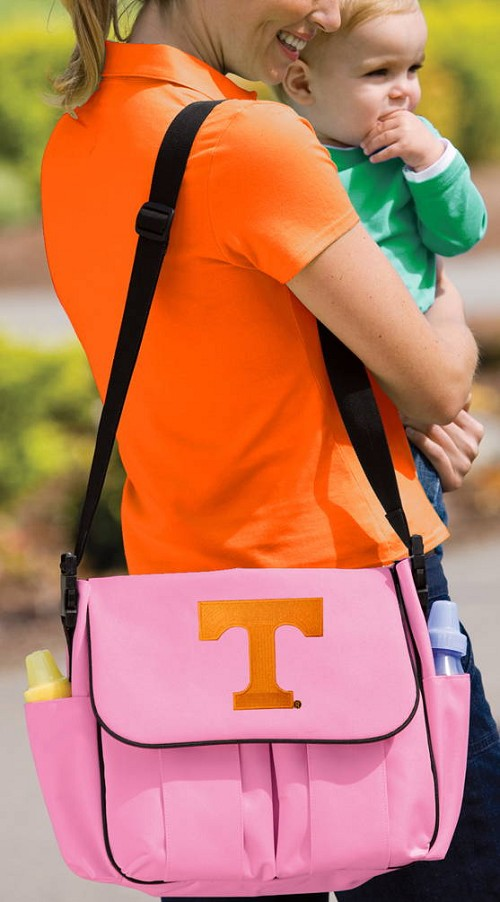 University of Tennessee Diaper Bag Official NCAA College Logo Deluxe